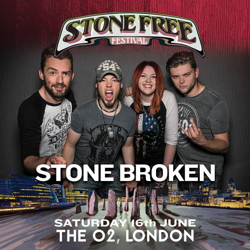 Stone Broken Stone Free Festival