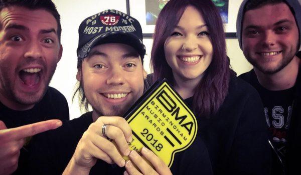 Stone Broken Win 'Best Rock Act' at Birmingham Music Awards 2018
