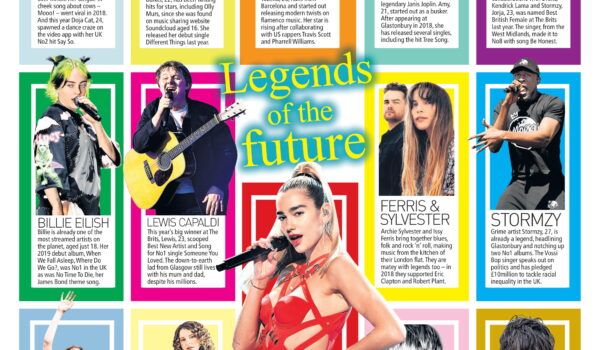 Amy Montgomery tipped as a 'Legend Of The Future' in the UK's SundayPeople